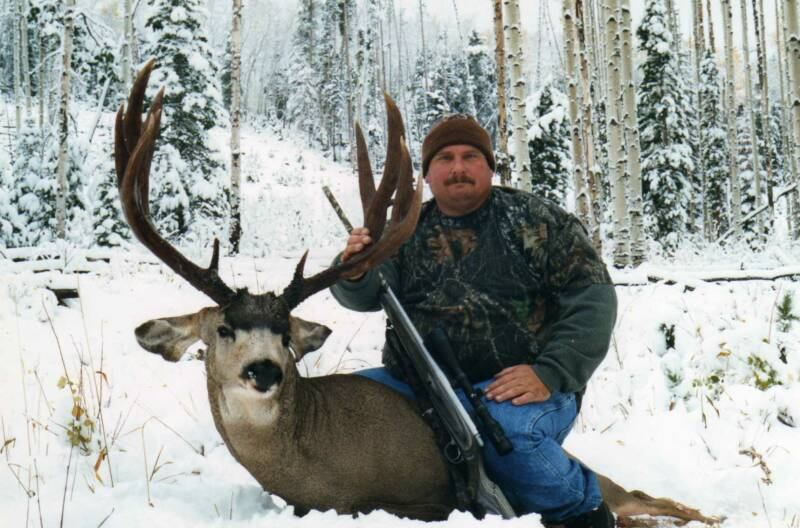 Deer hunting wyoming mule deer hunting wyoming guided for Fishing license wyoming