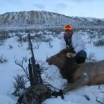 January Cow Elk Hunting